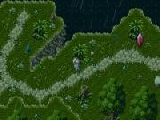 Kain alla ricerca di un posto per un picnic nel bosco di Shadowguard.