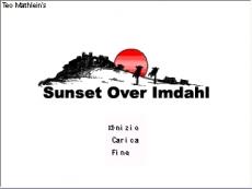 Sunset Over Imdahl