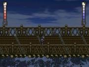 Passaggio sul ponte verso la villa